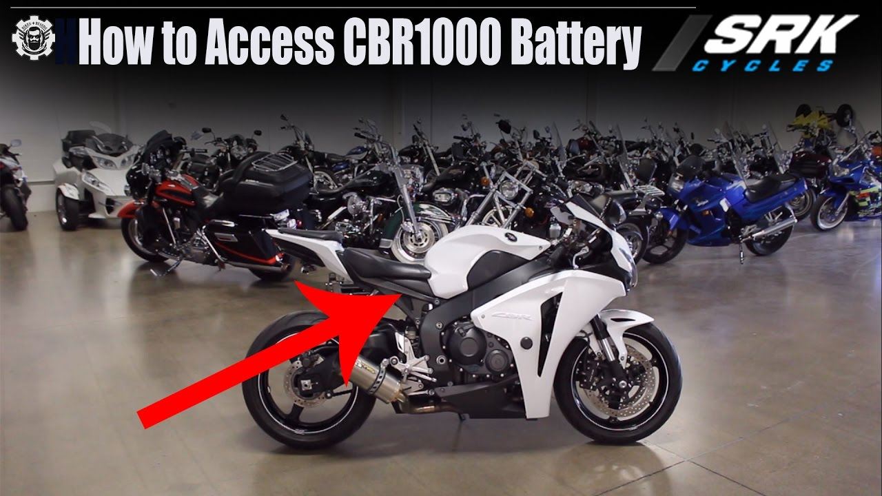 small resolution of how to access honda cbr1000 battery