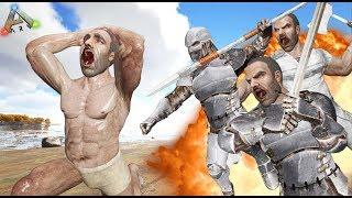 ARK - SE VUELVEN TODOS EN MI CONTRA!! :O #6 The Raid Games - Nexxuz