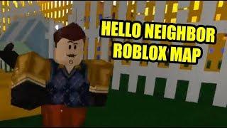 THE NEIGHBOR FINAL ACT | Hello Neighbor Roblox Map