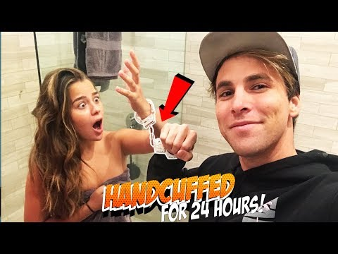 Thumbnail: 24 HOUR HANDCUFF CHALLENGE WITH TESSA BROOKS