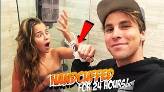 24 HOUR HANDCUFF CHALLENGE WITH TESSA BROOKS