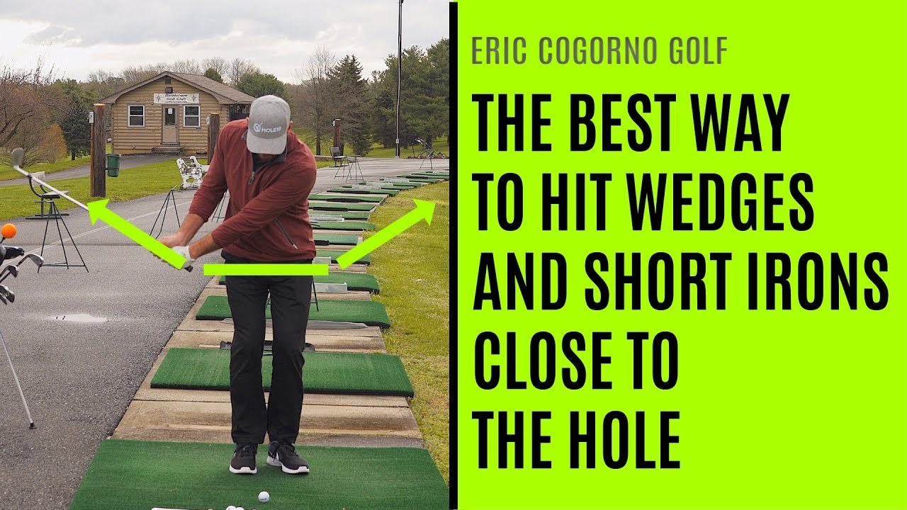 With a wedge youll get many holes