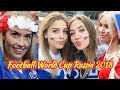 World Cup Russia 2018 - Beautiful Football Female Fans 2018