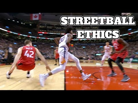 Top 2017-18 NBA Rookie Plays Pt. 1   Bone Collector's Streetball Ethics EP. 1