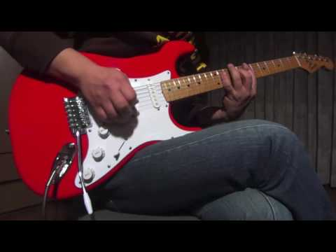Stevie Ray Vaughan - The House Is Rockin' (guitar Cover)