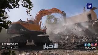 الإخطار بهدم المنازل سياسة احتلالية لتهجير الفلسطينيين (26-2-2019)