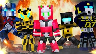 MINECRAFT TRANSFORMERS MOD | TRANSFORM INTO AUTOBOTS AND DECEPTICONS!!