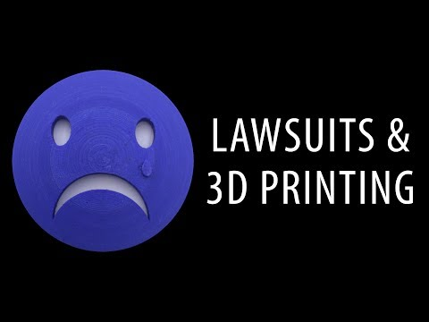 Lawsuits in the 3D Printing Community