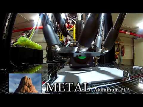 Tesla Filament METAL PLA Aluminum, Autobots Logo