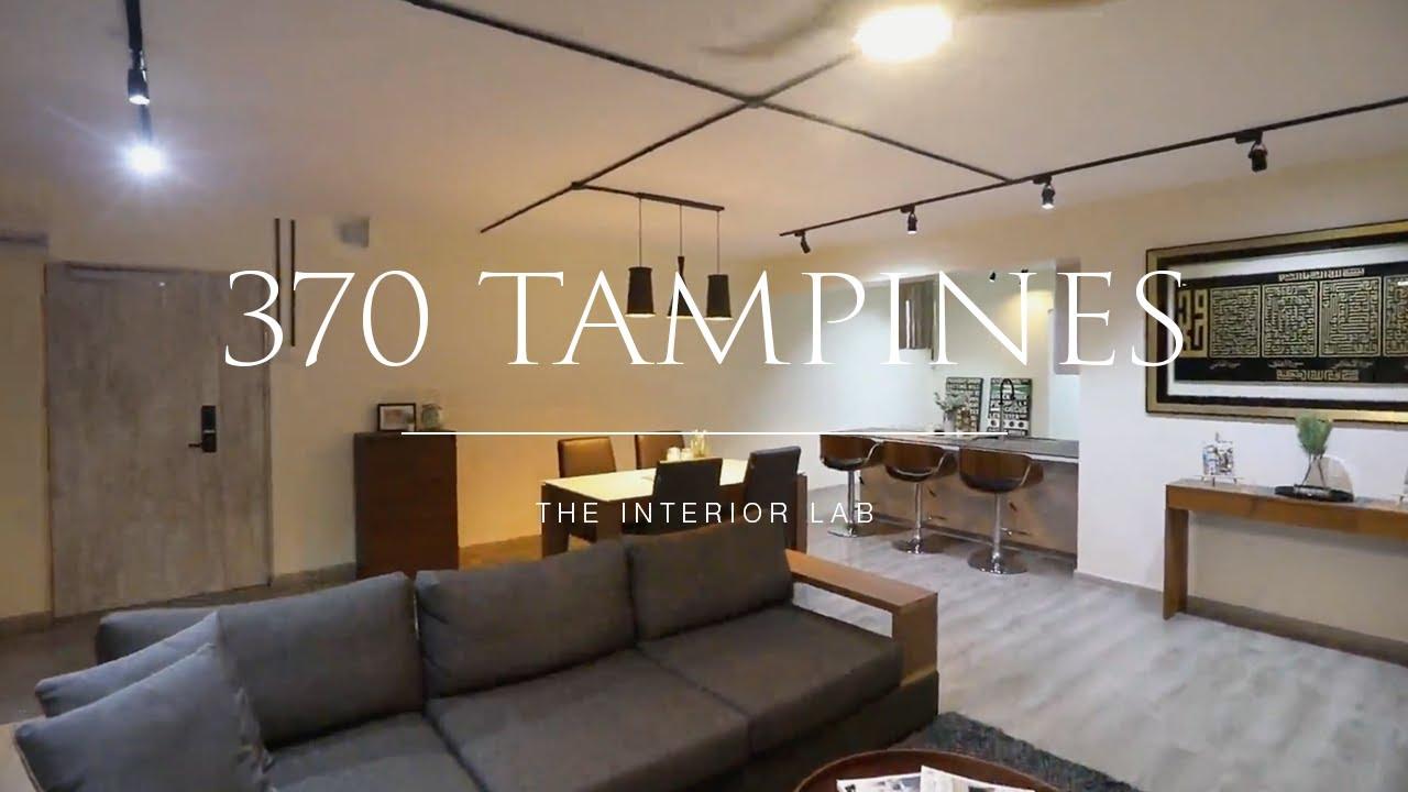 Home Tour Of A 4 Room Hdb Resale Flat Interior Designer Singapore The Interior Lab Youtube
