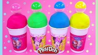 Minnie + Topolino GELATI di Play-Doh con SORPRESA Giocattoli per bambini e ragazzi
