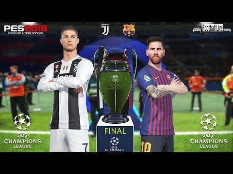 PES 2019   Barcelona vs Juventus   Final