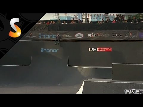 REPLAY Semi Final Roller Freestyle Park Pro - FISE World Chengdu-China 2016