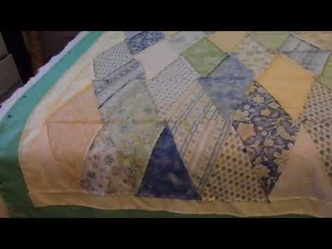 Putting the quilts together.. the Simple Diamond quilt - YouTube : putting a quilt together - Adamdwight.com