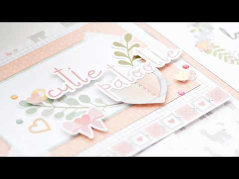 Little Lamb Baby Girl Scrapbook Stickers   Creative Memories Australia