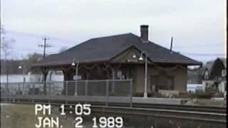 Amtrak #168 Mystic, CT 1-2-89