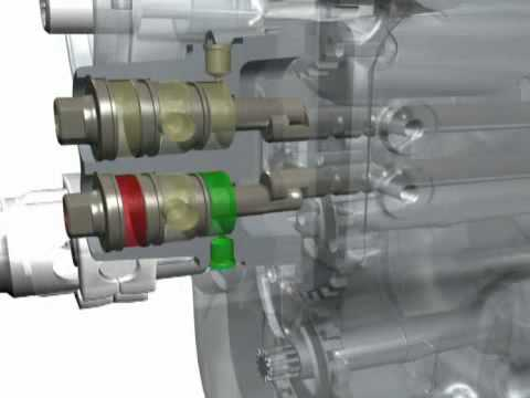 Nuova trasmissione robotizzata Carraro Spa - 3D animation