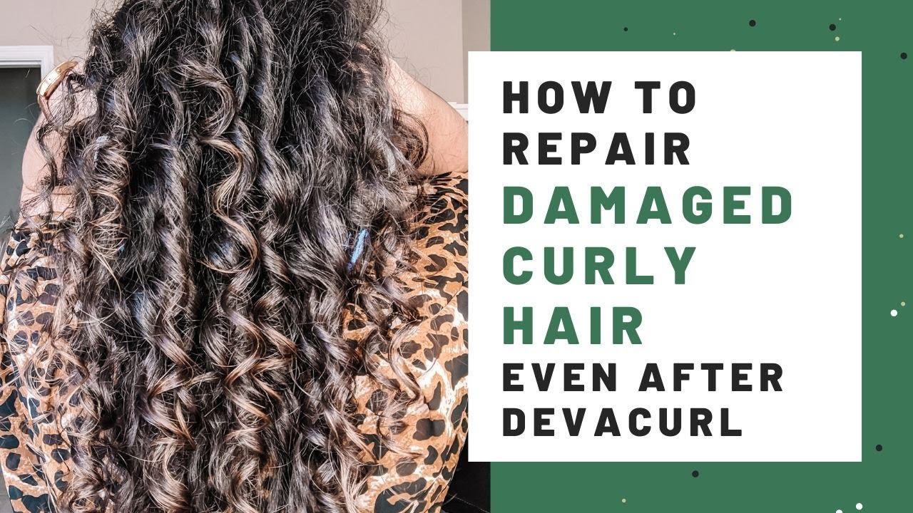 How To Repair Damaged Curly Hair Devacurl Damage Too