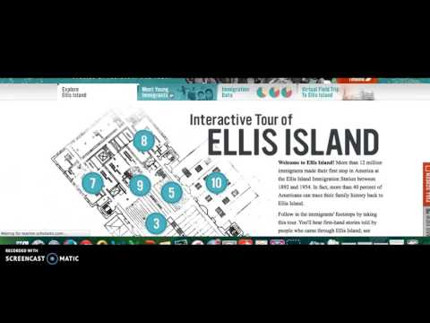 Ellis Island Virtual Tour Scholastic