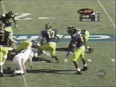 2001 Citrus Bowl: Michigan 31 Auburn 28 (PART 1)
