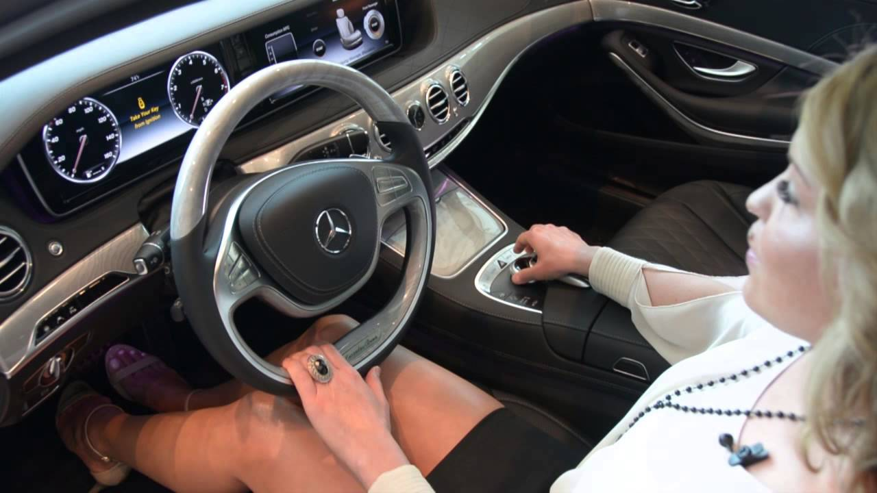 emily reviews the 2015 s-class interior - youtube