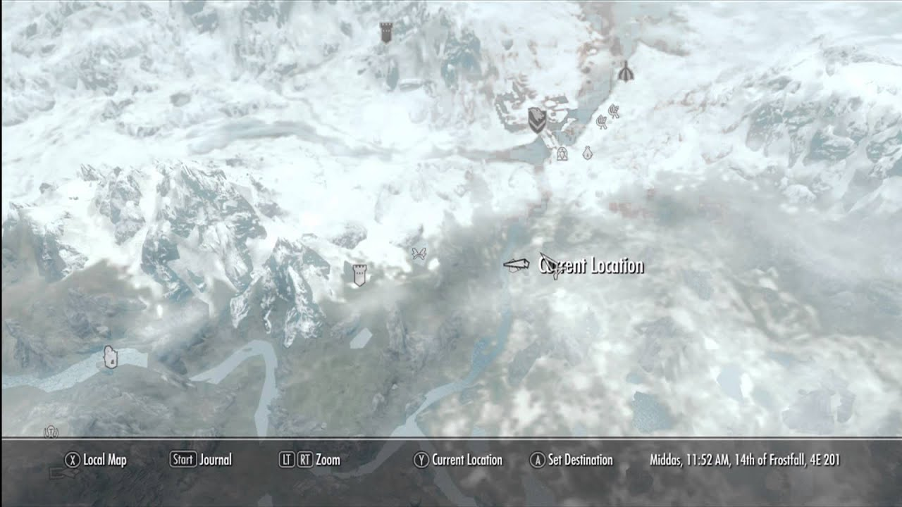 skyrim treasure map iii location hd 1080p youtube