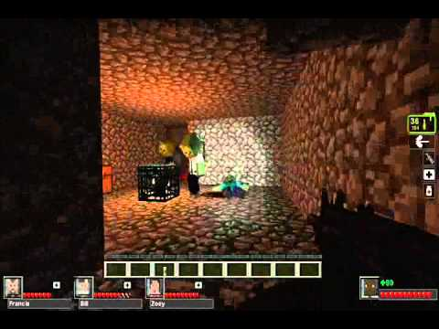 скачать карту для Minecraft Left 4 Dead 2 - фото 4