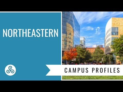 Northeastern University - Boston - campus tour with American College Strategies