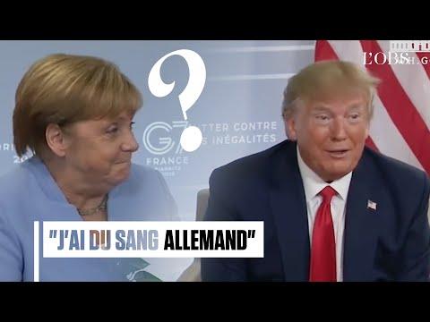 Cette phrase de Donald Trump a bien fait rire Angela Merkel