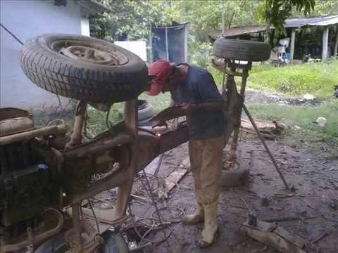 Construção Gaiola Cross 1600 PARTE 1