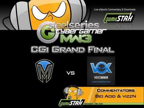 Xbox360 MW3 CGi Grand Final - Mindfreak Vs Vox Eminor