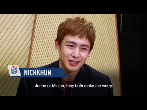 Who Worries Nichkhun The Most? | 2PM WILD BEAT | E!