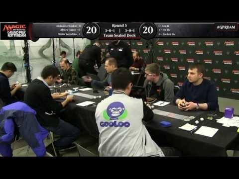Magic the Gathering Grand Prix Rotterdam  Round 5
