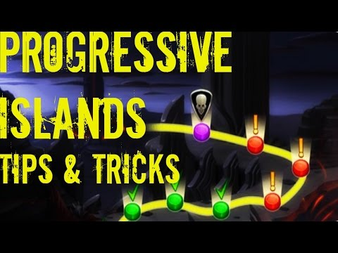 Monster Legends | Progressive Islands | Any Progressive Island | Tips and Tricks