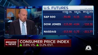 Cramer: The Fed should tolerate a little inflation until minority unemployment is lower