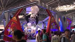 新華社》中國國際動漫遊戲博覽會上海揭幕 「東方夢工廠」首次參展