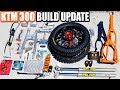 KTM 300 build part 10: update, new parts and mods