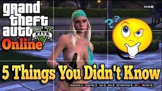 Gta 5 Online - 5 Things You Didn