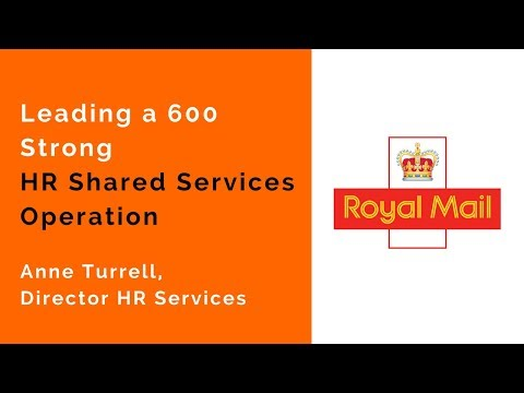 Episode #17 Anne Turrell, Director HR Services, Royal Mail