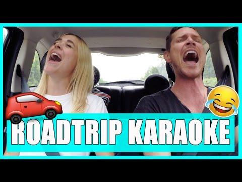 ROADTRIP KARAOKE - 27 chansons en 5 minutes // P.O et Marina