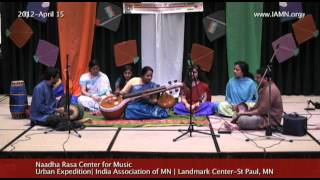 Naadha Rasa Center for Music--Carnatic Music 3[India Association of MN]