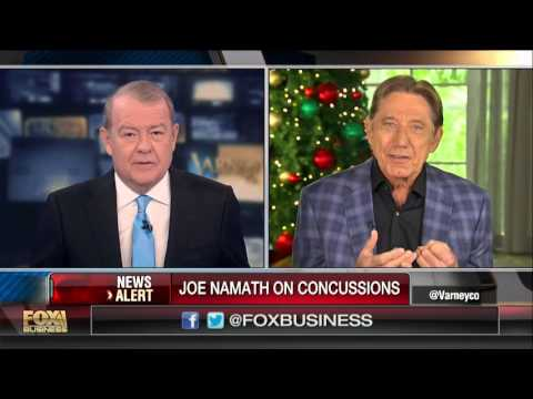Joe Namath on using a hyperbaric chamber to treat concussion affects