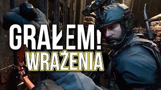 GRAŁEM w Call of Duty MODERN WARFARE - Wrażenia i Odczucia + Mój Gameplay