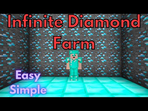 1.16 REAL Infinite Diamond Farm  U0026 Dupe Glitch For Minecraft Bedrock Edition PC/XBOX/PS4/MCPE/Switch