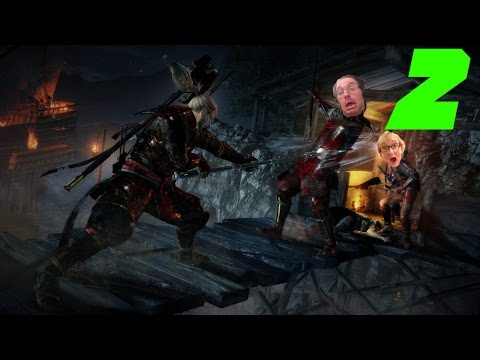 Nioh Alpha Demo Part 2 - Gaming With Mom - No Machine Guns