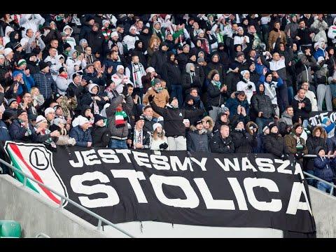 Doping Kibiców Legii We Wrocławiu