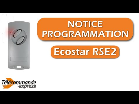 programmer une t l commande ecostar rse2 youtube. Black Bedroom Furniture Sets. Home Design Ideas