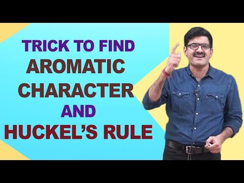 Trick to Find Aromatic Character And Huckel's Rule | JEE/NEET