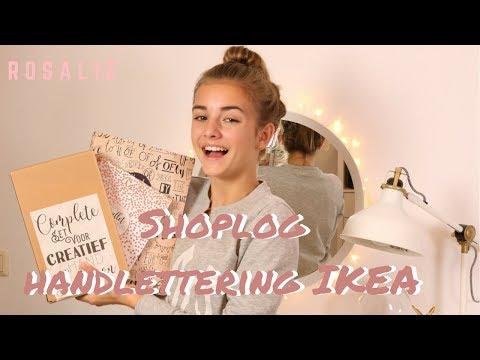 Shoplog Handlettering & Ikea | R O S A L I E