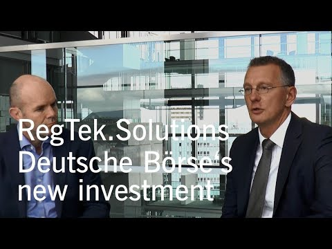 Deutsche Börse invests in RegTek.Solutions Inc.